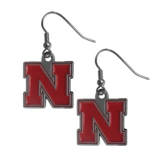 NCAA Nebraska Cornhuskers Dangle Earrings