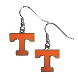 Siskiyou Silver/Orange NCAA Tennessee Volunteers Dangle Earrings