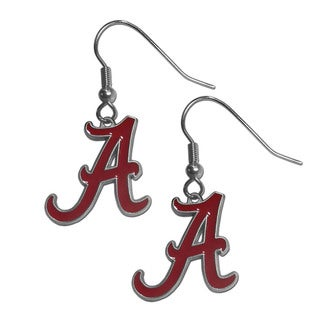 NCAA Alabama Crimson Tide Dangle Earrings