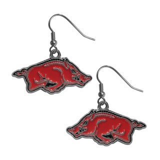 NCAA Arkansas Razorbacks Dangle Earrings