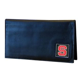 NCAA North Carolina State Wolfpack Deluxe Leather Checkbook Cover