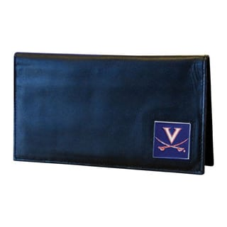 NCAA Virginia Cavaliers Deluxe Leather Checkbook Cover
