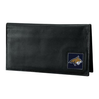 NCAA Montana St. Bobcats Deluxe Leather Checkbook Cover
