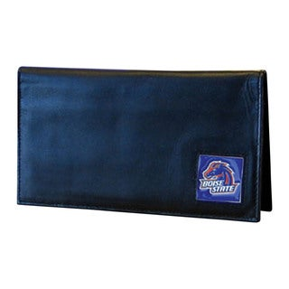 Boise State Broncos Deluxe Leather Checkbook Cover