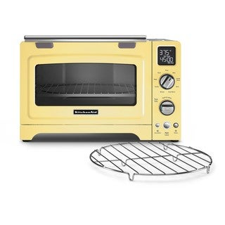 KitchenAid Convection 1800-watt 12-inch Majestic Yellow Digital Countertop Oven with Rebate