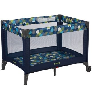 Cosco Funsport Comet Green Fabric and Mesh Playard