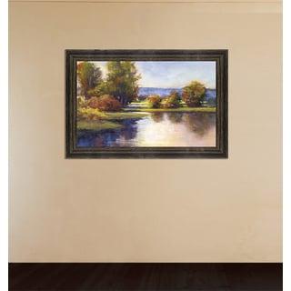 Framed Art - Lake View 1 by Amanda Houston