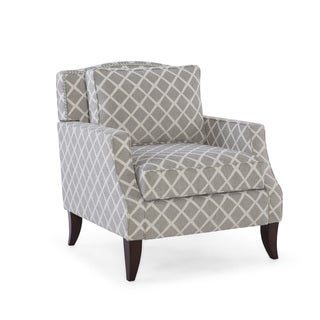 Austen Frost Wood Upholstered Armchair