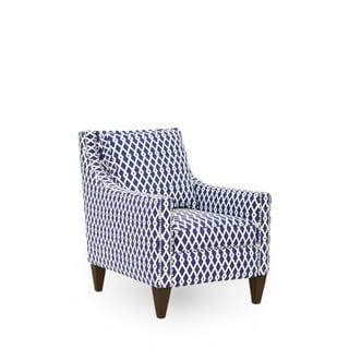 Carson Ultramarine Arm Chair