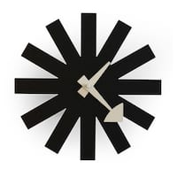Kardiel George Nelson Black Asterisk Clock