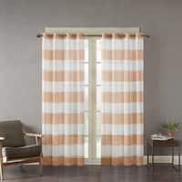 Clay Alder Home Sugar Creek Yarn Dyed Woven Sheer Window Curtain Panel