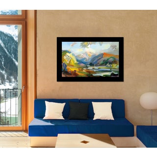 Framed Art -- View that Startled by Jeffrey Beauchamp