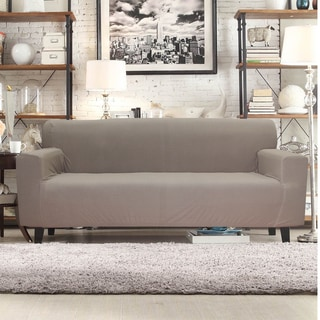 Form Fit Smart Seam Stretch Polyester Sofa Slipcover
