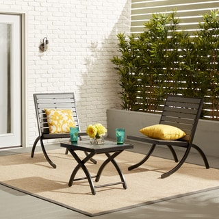 Rialto Outdoor Lounge Chair Charcoal