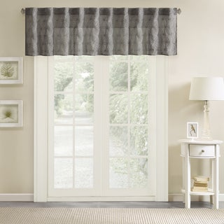 Madison Park Kida Embroidery Window Valance
