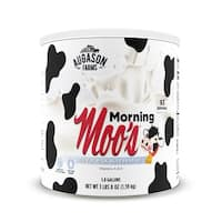 Augason Farms Morning Moo's Low Fat Milk Alternative 3 lbs 8 oz No. 10 Can