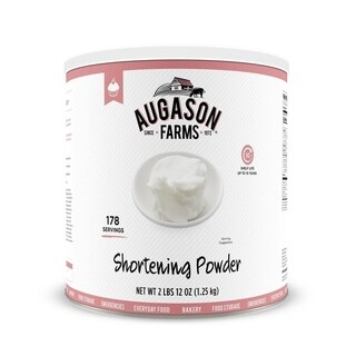Augason Farms #10 Shortening Powder 44-ounce Can