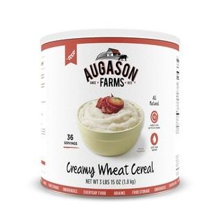 Augason Farms Creamy Wheat Cereal 65-ounce No. 10 Can