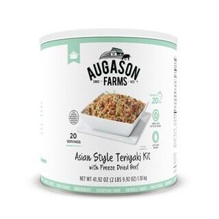 Augason Farms 42-ounce Freeze-dried Beef Asian-style Teriyaki Kit