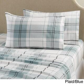 Home Fashion Designs Aspen Collection Super Soft Printed Cotton Flannel Sheet Set