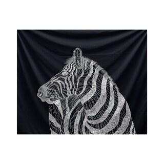 E by Design La Cebra Animal Print Tapestry