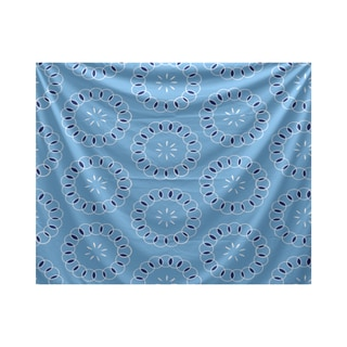 E by Design Happiness Is Floral Print Tapestry