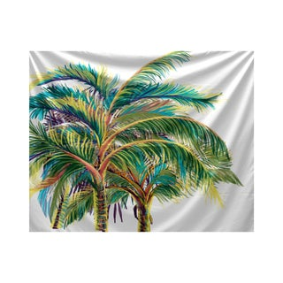 E by Design Vacation Floral Print Tapestry