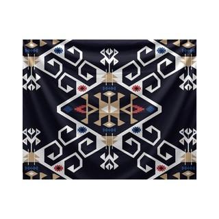 E by Design Jodhpur Medallion Geometric Print Tapestry