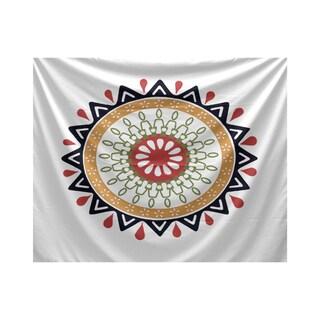 E by Design 50 x 60-inch Modern Geometric Print Tapestry