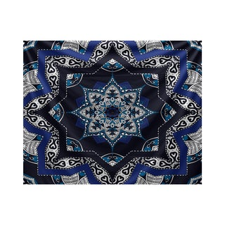 E by Design Shawl Geometric Print Tapestry