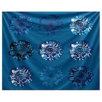 E by Design Gypsy Floral 2 Floral Print Tapestry