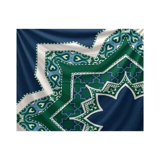 E by Design Rising Star Geometric Print Tapestry