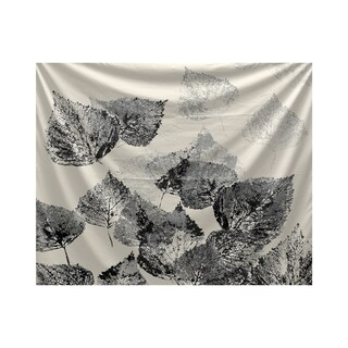 E by Design Fall Memories Floral Print Tapestry