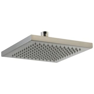 Delta Arzo 1-Spray 8 in. Overhead Raincan Showerhead in Stainless RP53496SS