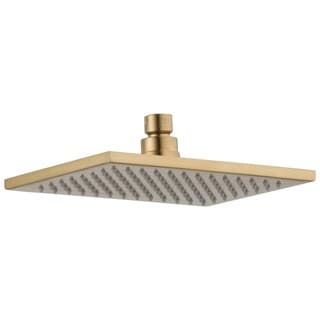Delta Vero 1-Spray 2.5 GPM 8-5/8 in. Raincan Showerhead in Champagne Bronze RP62955CZ