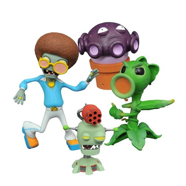 Diamond Select Toys LLC Plants vs. Zombies Garden Warfare 2 Select Peashooter vs. Disco Zombie Action Figure
