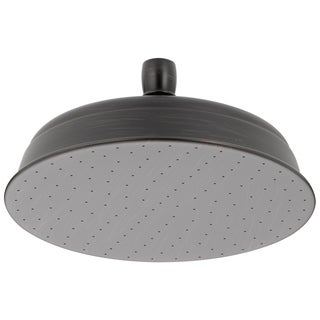 Delta 1-Spray 2.5 gpm 8-1/2 in. Raincan Showerhead in Venetian Bronze 52682-RB