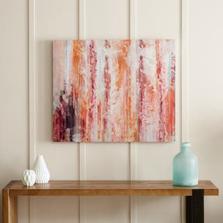 Urban Habitat Passion Coral Gel Coat Canvas With Palette Knife|https://ak1.ostkcdn.com/images/products/12836479/P19602160.jpg?impolicy=medium