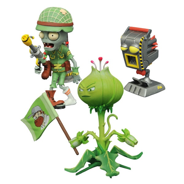 Diamond Select Toys Colorful Zombie Action Figures