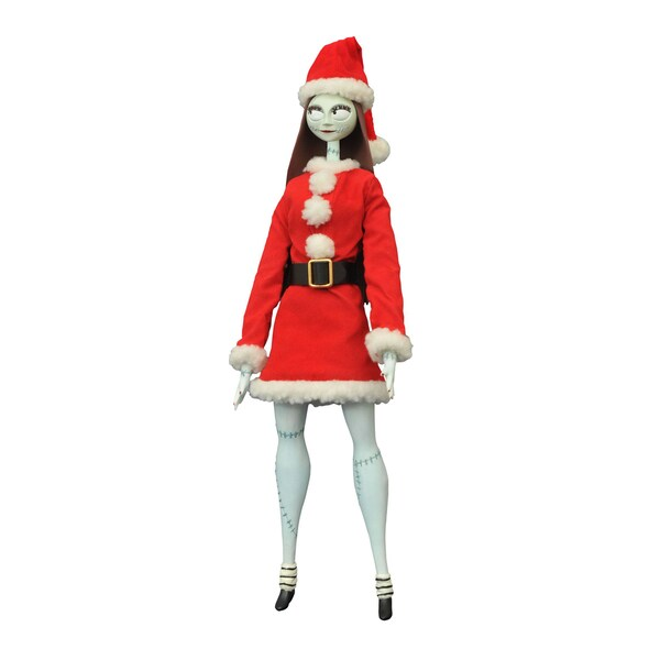 Diamond Select Toys LLC 'Nightmare Before Christmas' Coffin Unlimited Santa Sally Doll
