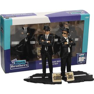 Movie Icons 'The Blues Brothers' Jake and Elwood 7-inch Figure Set