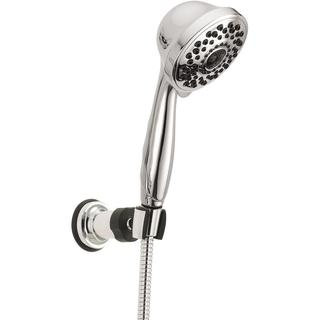 Delta 7-Spray Adjustable Wall Mount Hand Shower in Chrome 59715