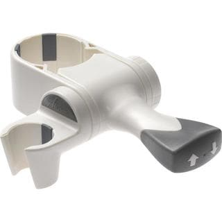 Delta ADA Grab Bar Hand Shower Mount in White U6300-WH