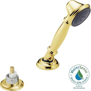 Delta Traditional Roman Tub Hand Held Shower in Polished Brass RP33791PBLHP