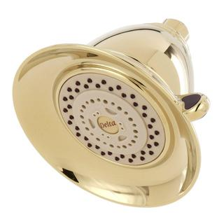 Delta Victorian 3-Spray 5-1/2 in. Touch-Clean Showerhead in Polished Brass RP34355PB