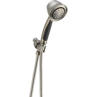 Delta 5-Spray Shower Arm Mount Hand Shower in Stainless 59355-SS-PK