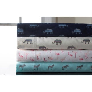Whimsical Print 300 Thread Count Cotton Sheet Set