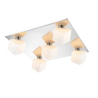 Iberlamp by Golden Lighting #C165-F5-CH Volga Collection 5-light Flush-mount Fixture