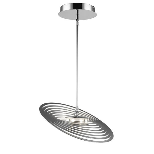 Golden Lighting Iberlamp #C500-M-CH Geo Medium Pendant