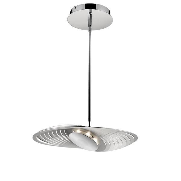 Golden Lighting Iberlamp #C500-M-CH Geo Medium Pendant